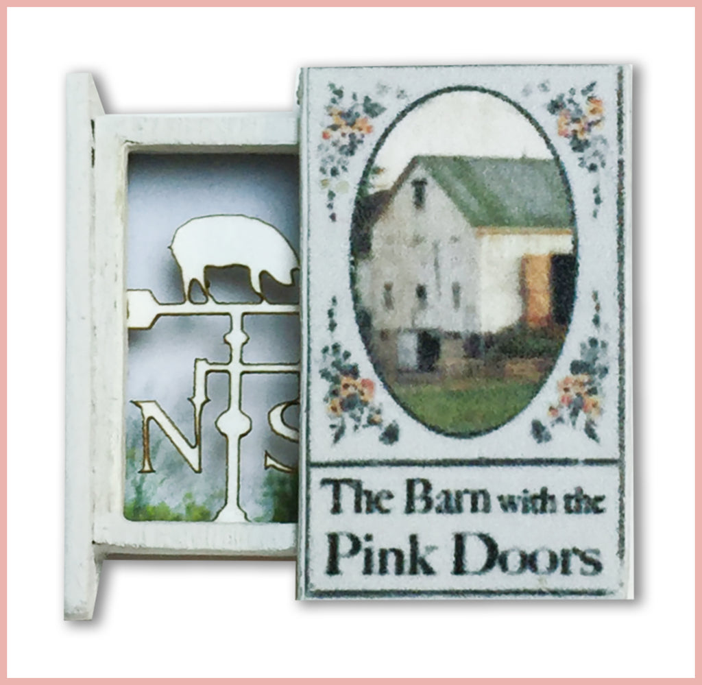 Itsy Bitsy Teeny Weeny Secret Book - The Barn with the Pink Doors
