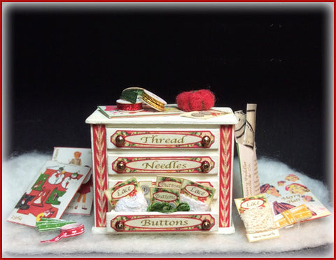 "1"" Merry Notions Box"