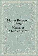 "1/4"" Master Bedroom Carpet"