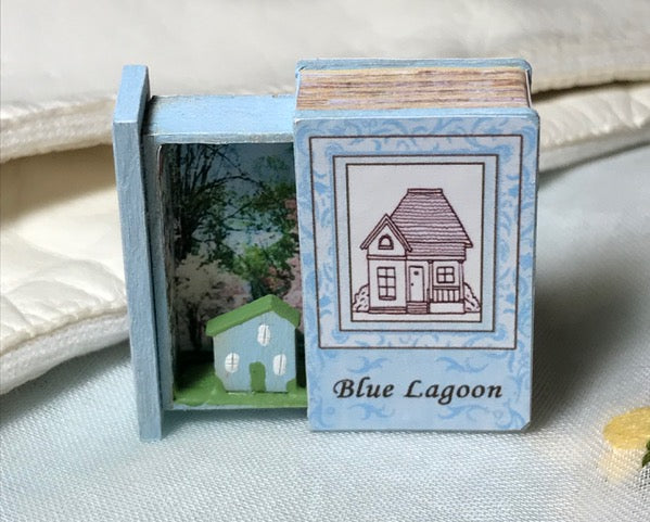 Teeny Weeny Secret Book - Blue Lagoon