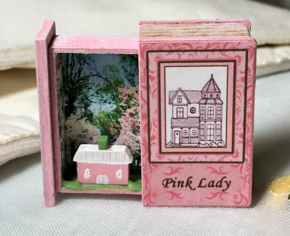Teeny Weeny Secret Book - Pink Lady