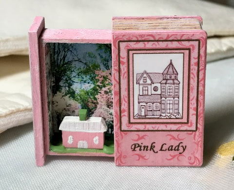 RETIRED - LIMITED AVAILABILITY Teeny Weeny Secret Book - Pink Lady