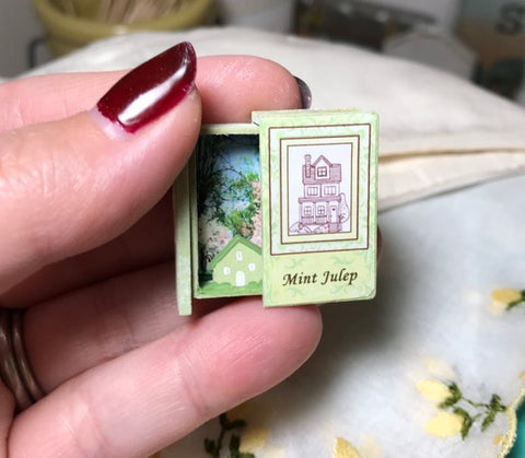 RETIRED - LIMITED AVAILABILITY Teeny Weeny Secret Book - Mint Julep