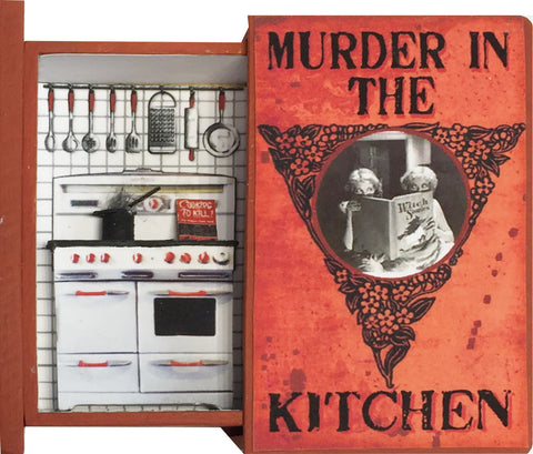 Secret Book - Murder in the Kitchen
