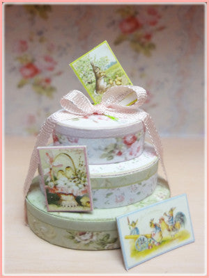 "1"" Stacking Boxes & Bunting"