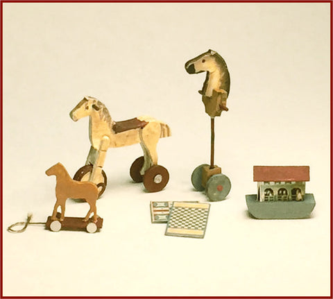 CRANBERRY COTTAGE - ANTIQUE TOYS