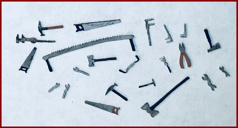 CRANBERRY COTTAGE - TOOL SHED KIT#3