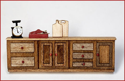 CRANBERRY COTTAGE - THE LONG CABINET