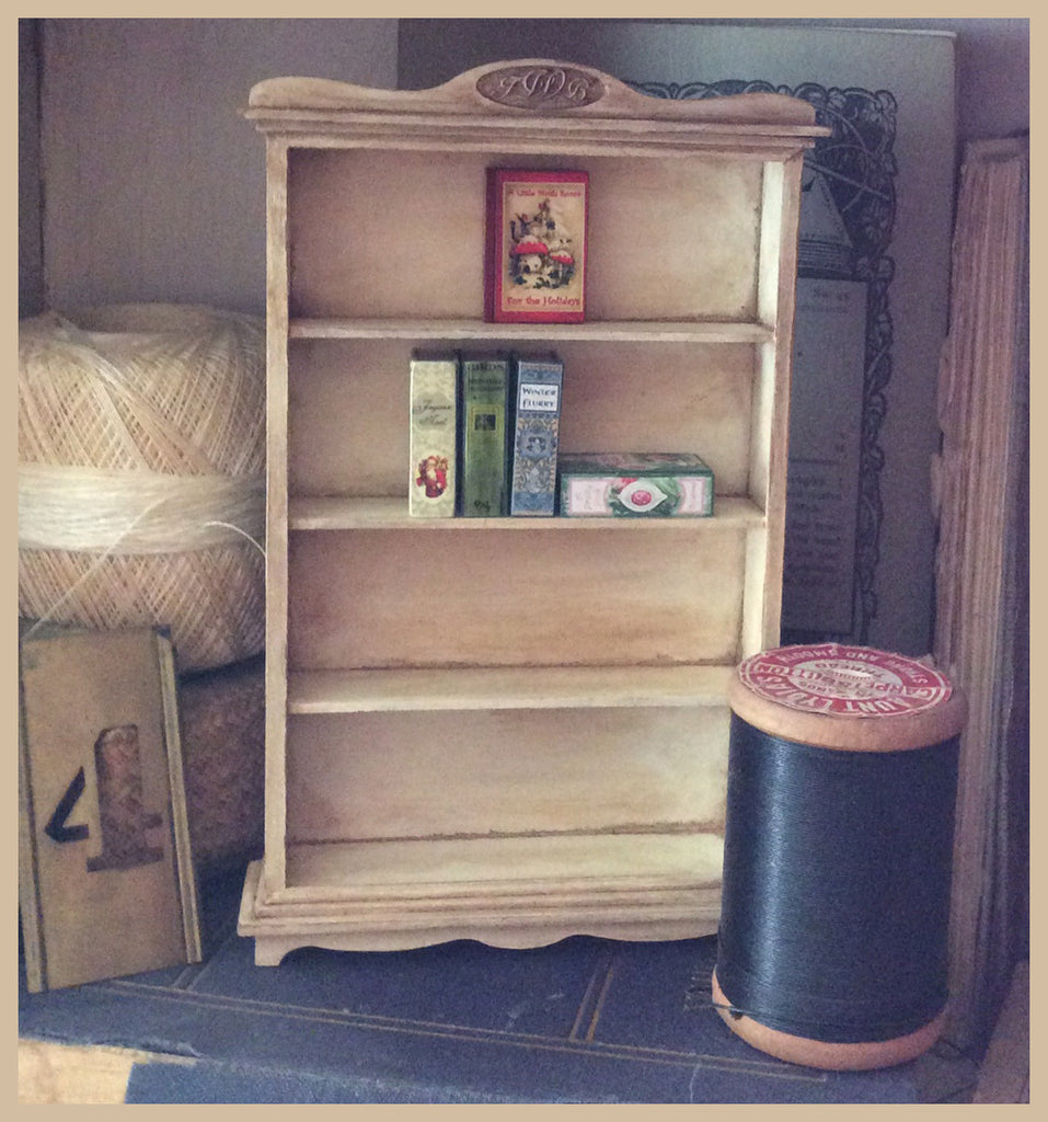Teeny Weeny Book Cabinet