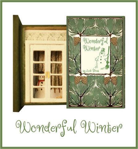Teeny Weeny Secret Book - WONDERFUL WINTER