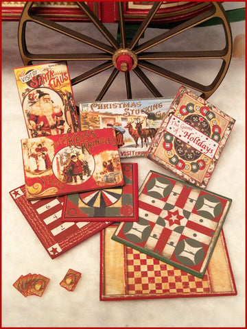 "1"" Christmas Games Kit"