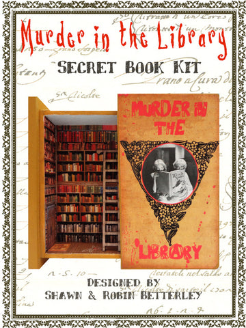 Secret Book - Murder in the Library