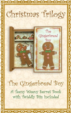 Teeny Weeny Secret Book - GINGERBREAD BOY