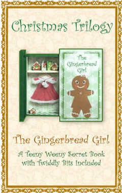 Teeny Weeny Secret Book - GINGERBREAD GIRL
