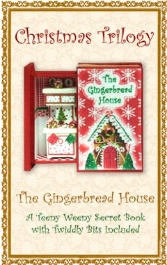 Teeny Weeny Secret Book - GINGERBREAD HOUSE
