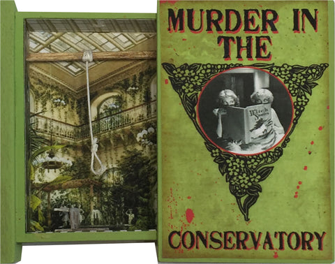 Secret Book - Murder in the Conservatory