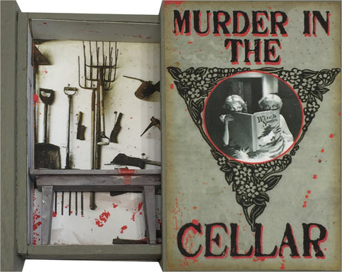 Secret Book - Murder in the Cellar