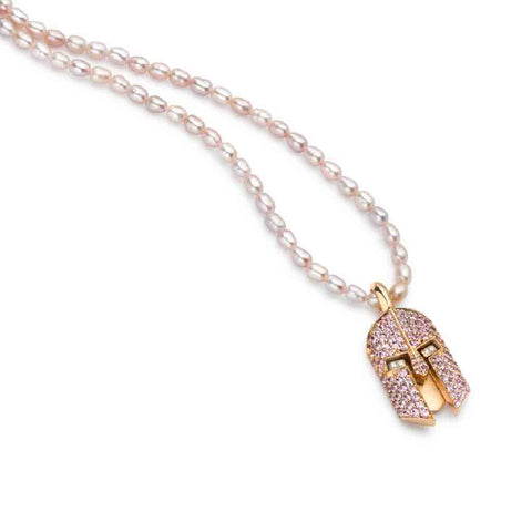 FUTURE QUEEN PINK NECKLACE