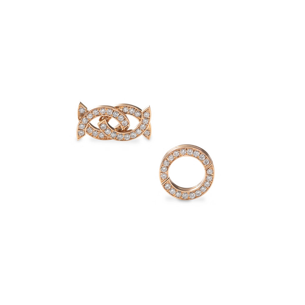 MOTION DIAMOND EARRINGS