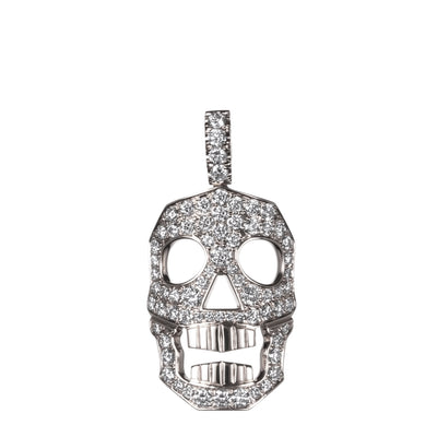 DIAMOND SKULL PENDANT ONLY - LARGE