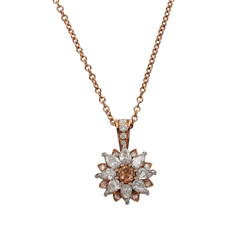 DAISY TWIST NECKLACE