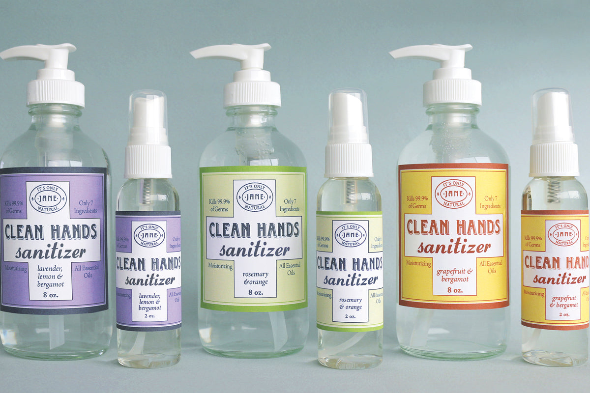 Hand Sanitizers and Hand & Body Washes