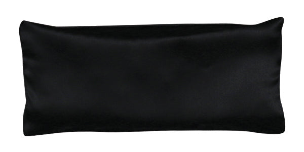 Eye Pillow - Silk Charmeuse Black