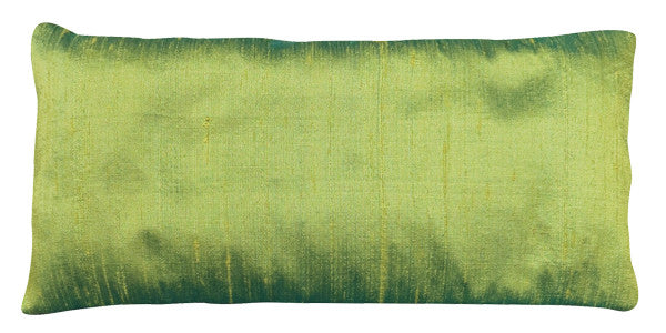 Eye Pillow - Silk Dupioni Peridot