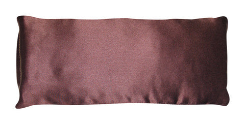 Eye Pillow - Silk Charmeuse Brown