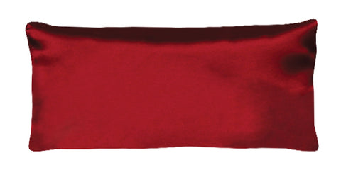 Eye Pillow - Silk Charmeuse Burgundy