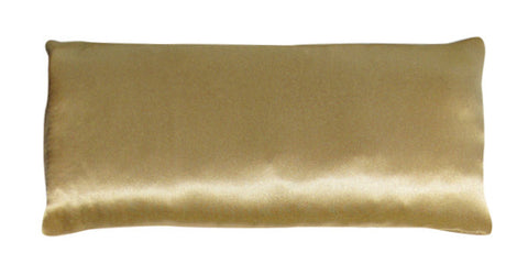 Eye Pillow - Silk Charmeuse Gold