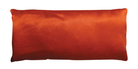 Eye Pillow - Silk Charmeuse Orange
