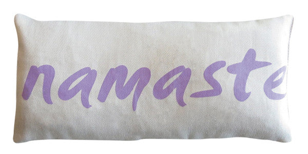 Organic Cotton Eye Pillow - Namaste Lilac