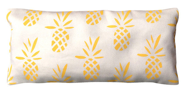 Organic Cotton Eye Pillow - Pineapples