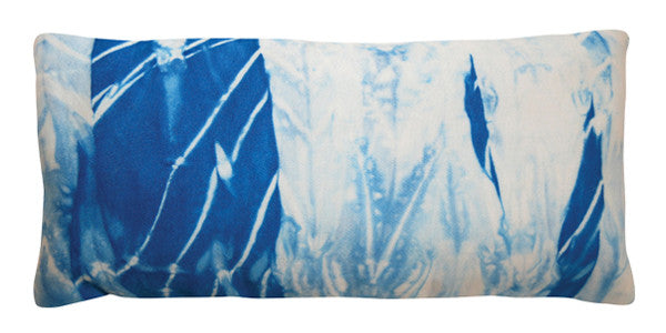 Organic Cotton Eye Pillow - Shibori Blue