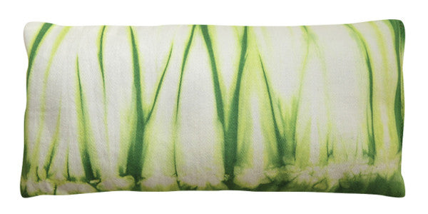 Organic Cotton Eye Pillow - Shibori Green