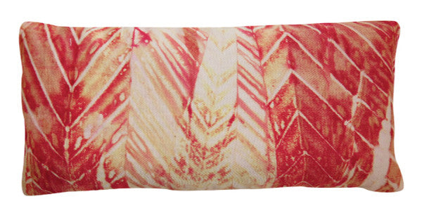 Organic Cotton Eye Pillow - Shibori Red