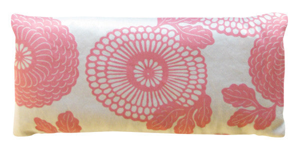 Organic Cotton Eye Pillow - Tradewinds Pink Mums