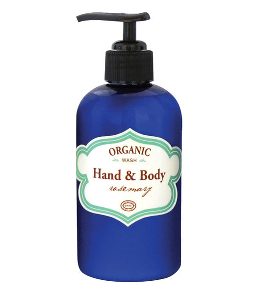 Organic Hand & Body Wash - Rosemary