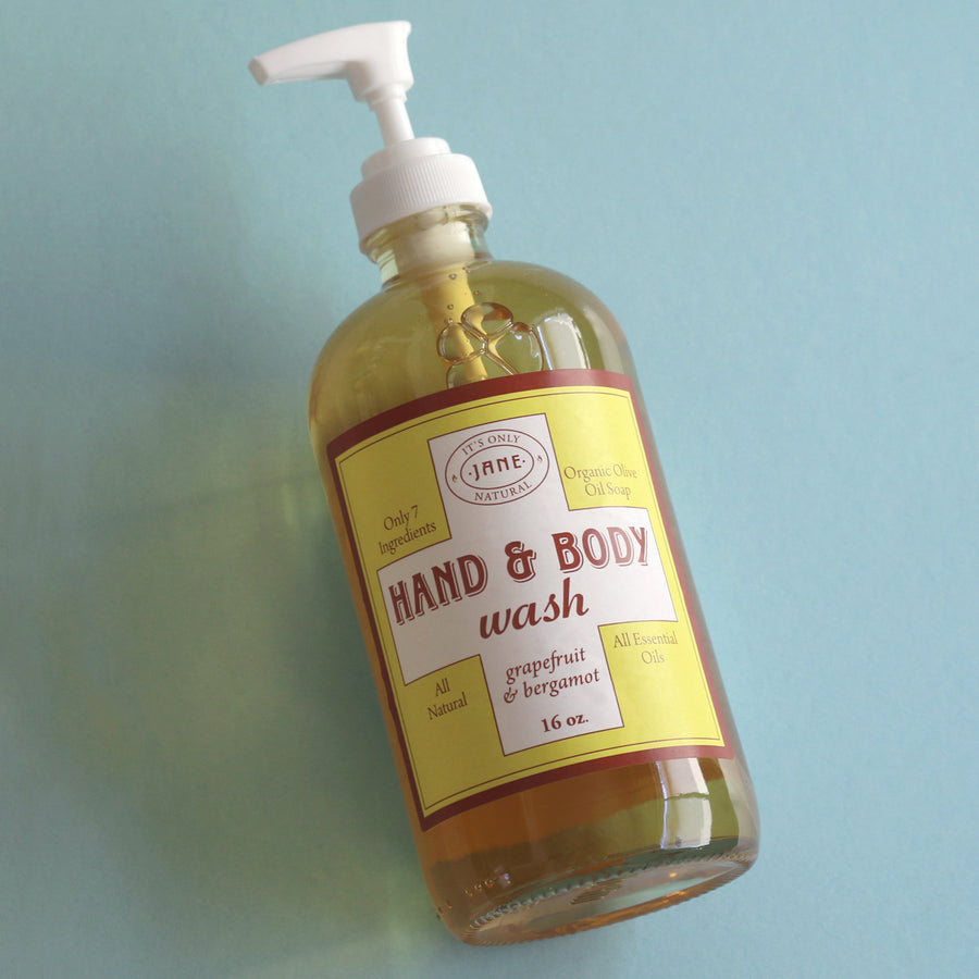 Hand & Body Wash - Grapefruit & Bergamot