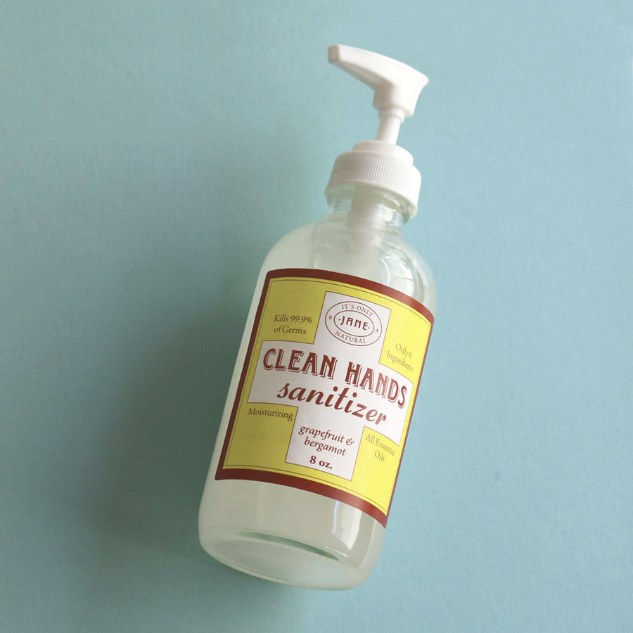 Clean Hands Sanitizer Gel - Grapefruit & Bergamot