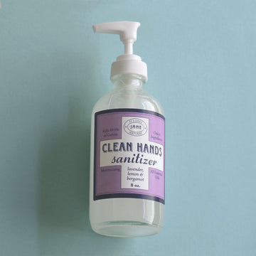 Clean Hands Sanitizer Gel - Lavender, Lemon & Bergamot