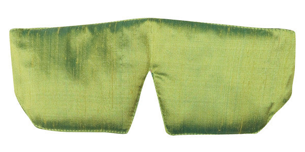 Sleep Mask - Silk Dupioni Peridot