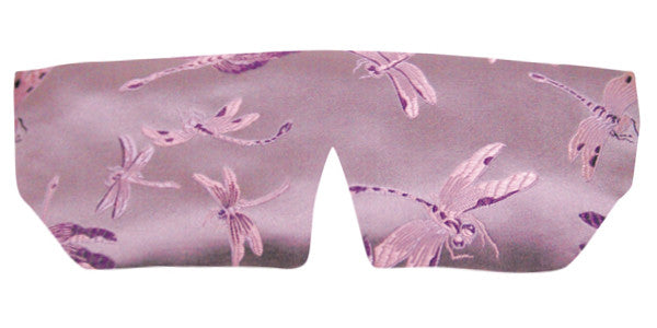 Silk Sleep Mask - Dragonfly Lavender