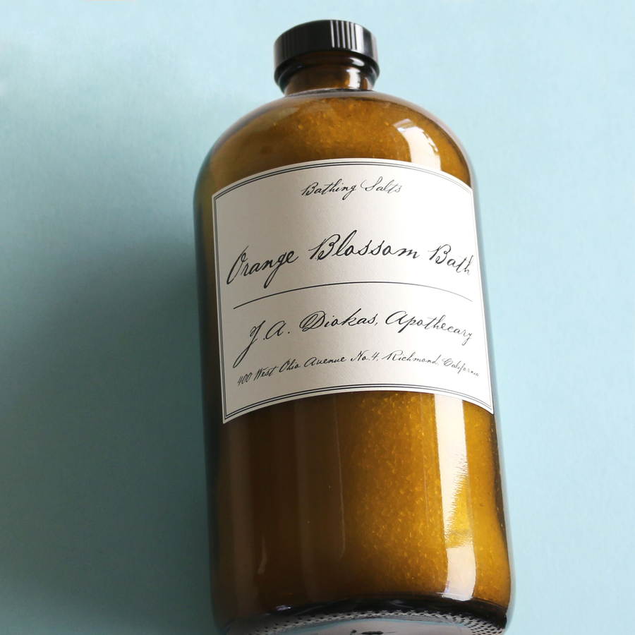 Apothecary Orange Blossom Bath