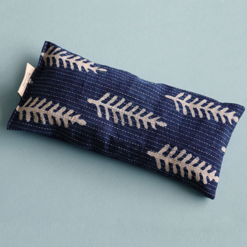 Eye Pillow - Indigo Ferns
