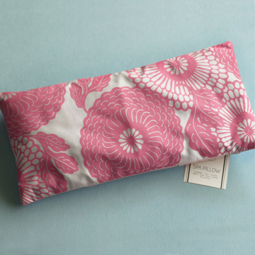 Spa Pillow - Pink Mums
