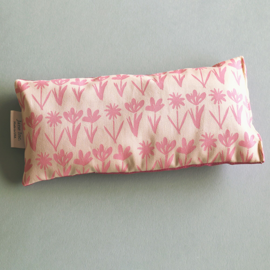 Organic Cotton Eye Pillow - Flowers