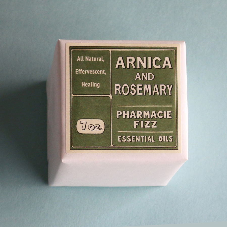 Pharmacie Fizzie - Arnica and Rosemary