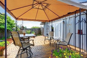adding shade to your patio